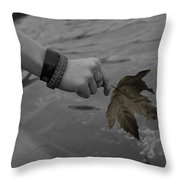 The Cycle Photo Seven Throw Pillow