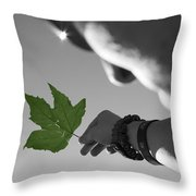The Cycle Photo Two Throw Pillow