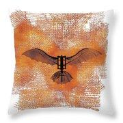The Da Vinci Flying Machine Throw Pillow