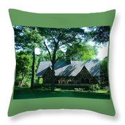 The Dairy Central Park Throw Pillow