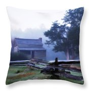 The Dan Lawson Place Throw Pillow