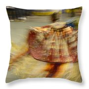 Pow Wow The Dance 2 Throw Pillow