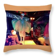 The Dance- Throw Pillow by JD Mims