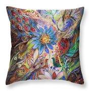 The Dance Of Light Throw Pillow