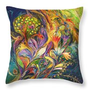 The Dance Of Lilies Throw Pillow