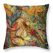 The Dance Of Nature Throw Pillow