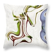 The Dance Of Spring Throw Pillow