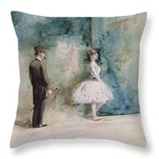 The Dancer Throw Pillow