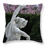 The Dancing Lesson Statue Throw Pillow