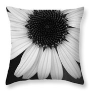 The Dark In The Light Throw Pillow