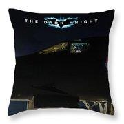 The Dark Knight 2 Throw Pillow