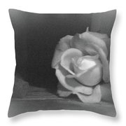 The Dark Rose Throw Pillow