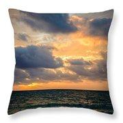 The Dark Sea Throw Pillow