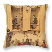 The Davenport Brothers Throw Pillow