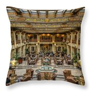 The Davenport Throw Pillow
