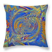 The Dawn Of Hope Throw Pillow
