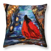 The Dawn Throw Pillow