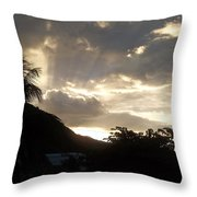 The Dawning Throw Pillow