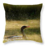 The Day Dreamer Throw Pillow