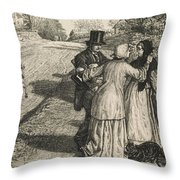 The Day In The Country  Throw Pillow