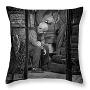 The Day Is Done Throw Pillow