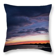 The Day Rests Throw Pillow