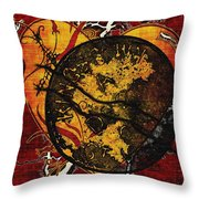 The Day You Left Me Throw Pillow