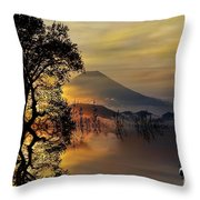 The Days Blank Slate Throw Pillow by Chris Armytage