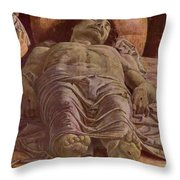 The Dead Christ 1478 Throw Pillow