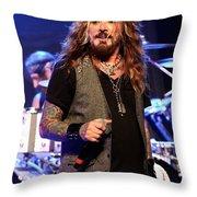 The Dead Daisies Singer John Corabi Throw Pillow