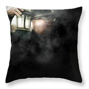 The Dead Of Night Throw Pillow