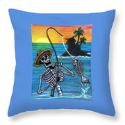 The Dead Sea  Throw Pillow