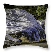 The Death Of Chrome Throw Pillow