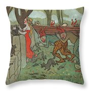 The Death Of Death Throw Pillow