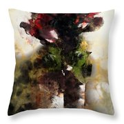 The Death Of Innocence Throw Pillow