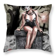 The Deaths Of Pete Tapang Throw Pillow by Pete Tapang