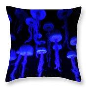 The Deep Blue Sea Throw Pillow