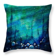 The Deep Places Throw Pillow