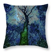 The Deep Wood Throw Pillow