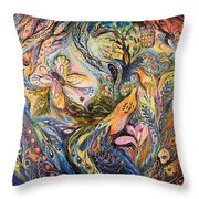 The Deepest Blue Throw Pillow