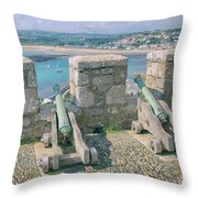The Defence Throw Pillow
