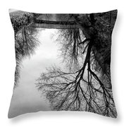 The Delaware And Raritan Canal Throw Pillow