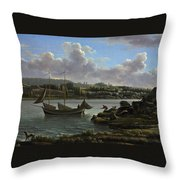 The Departure For The Hunt Throw Pillow