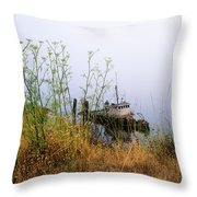 The Derelict Mary D. Hume Throw Pillow