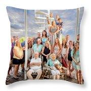 The Dezzutti Family Throw Pillow