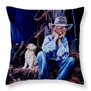 The Dilemma Throw Pillow