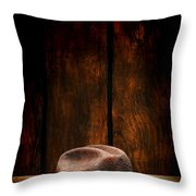 The Dirty Brown Hat Throw Pillow