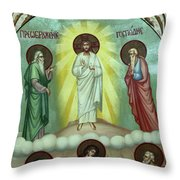 The Discussion Throw Pillow
