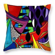 The Disguise Throw Pillow