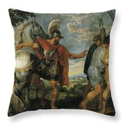 The Dismissal Of The Lictors Throw Pillow